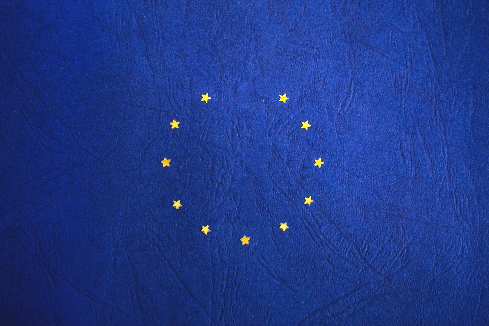 The EU flag with one star missing